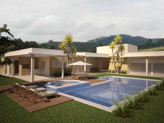 Flávia Brandão - arquitetura, interiores e obras Modern houses