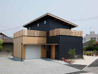 House of Tagawa 有限会社クリエデザイン/CRÉER DESIGN Ltd. モダンな 家