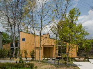 木立の家 IBC DESIGN モダンな庭
