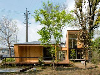 木立の家 IBC DESIGN モダンな 家