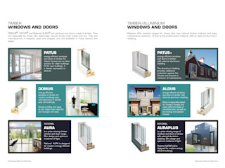 Authorised Rationel Distributor Windows & Doors Building With Frames Minimalist house