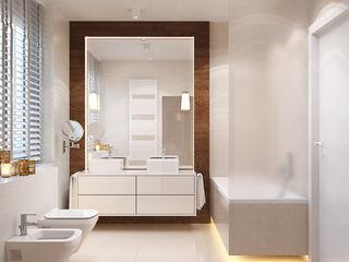 Finchstudio Ванная комната в стиле модерн Белый