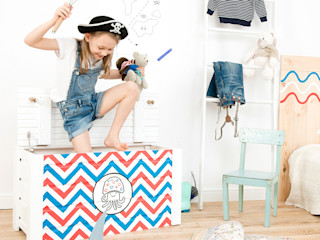 "Toy chest ""Waterlove"" NOBOBOBO Nursery/kid's roomStorage"