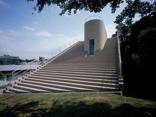 Step House 久保田章敬建築研究所 Modern Evler