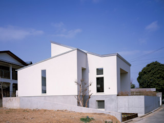House in Ojityo 久保田章敬建築研究所 Modern Evler