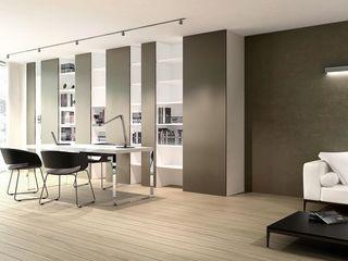 ASA Autorskie Studio Architektury Oficinas de estilo minimalista