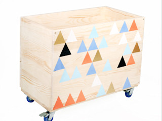 "Toy box ""Pitagoras sigh"" NOBOBOBO Nursery/kid's roomStorage"