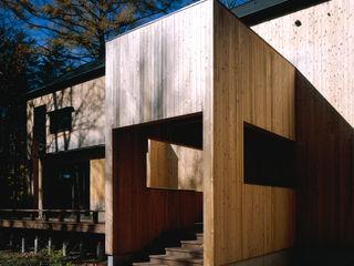 Villa in Karuizawa 久保田章敬建築研究所 Modern Evler