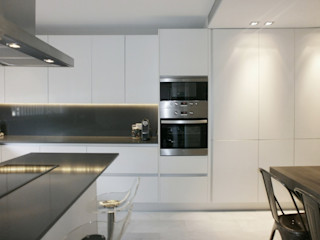Cocinas en blanco. Una decisión acertada Cocinasconestilo.net Cocinas de estilo minimalista