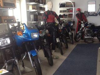Motorrad- und Rolleroldies