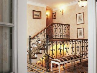ANIMA Classic style corridor, hallway and stairs