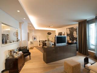 City Apartment Elke Altenberger Interior Design & Consulting Moderne Wohnzimmer