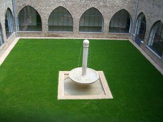 Priesterseminar im Kloster waldorfplan architekten Klassischer Garten