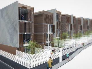 SOCIAL HOUSING - CONCORSO DI IDEE Nau Architetti Case moderne