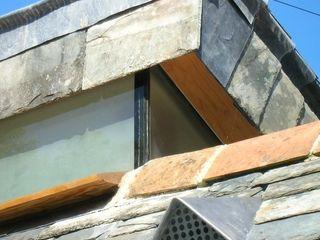 Riley House Innes Architects ラスティックな 家