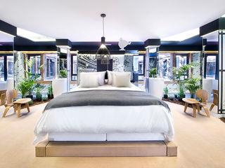 Egue y Seta Camera da letto in stile asiatico