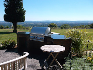 Outdoor Kitchens and BBQ Areas Design Outdoors Limited JardínBarbacoas