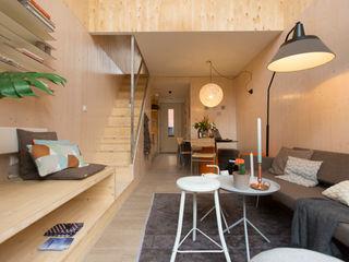 MoodBuilders Salas de estilo minimalista