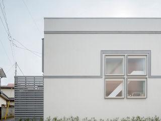コンパクトで可愛いショートケーキハウス M設計工房 北欧風 家 白色