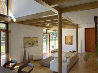 ArchitekturWerkstatt Vallentin GmbH Salas de estar modernas