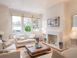 Living room : Neutral tones In:Style Direct Soggiorno minimalista