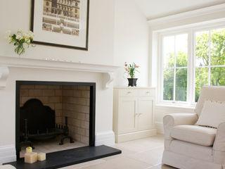 Private Residence - Wiltshire Artisans of Devizes Konservatori Klasik Batu Kapur Beige