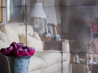 Antiqued Mirror Glass Rupert Bevan Ltd Living roomAccessories & decoration
