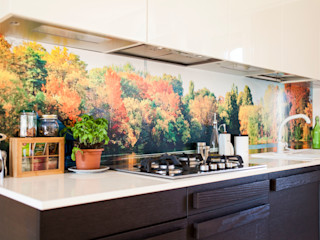 Crearreda 牆壁與地板牆壁與地板罩 塑木複合材料 Multicolored