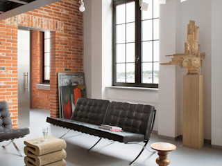 justyna smolec architektura & design Modern Living Room