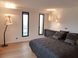 Emilie Bigorne, architecte d'intérieur CFAI Phòng ngủ phong cách tối giản