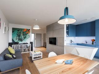 emka unikat:lab Modern Living Room