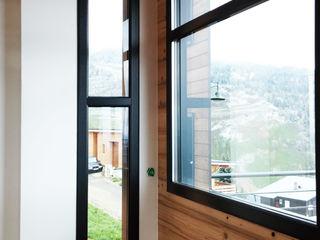 Empreinte Constructions bois Modern Pencere & Kapılar