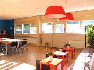 Aileen Martinia interior design - Amsterdam Event venues Wood Red