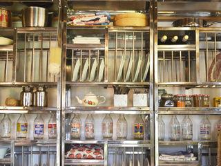 Stainless steel plate racks The Plate Rack キッチンキャビネット&棚