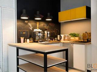 Blok projekt Cocinas de estilo moderno