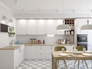 Ekaterina Donde Design Scandinavian style kitchen