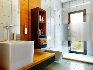 Penintdesign İç Mimarlık Ванная комната в стиле модерн