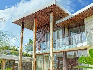 Ancona + Ancona Arquitectos Balcones y terrazas tropicales
