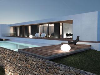 Maison contemporaine Aix-en-Provence homify Maisons modernes