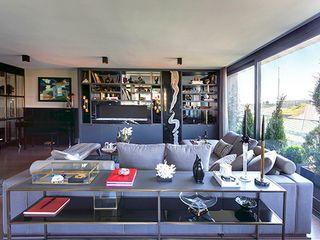 DVI RESIDENCE Esra Kazmirci Mimarlik Modern living room