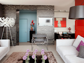 PDV studio di progettazione Corredor, hall e escadasSofás, cadeiras e bancos