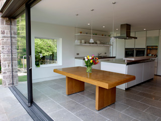 Veddw Farm, Monmouthshire Hall + Bednarczyk Architects Dapur Modern