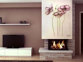 Murales Divinos Living room