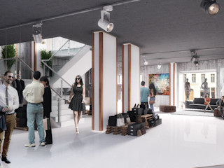 Boutigue Visionmaker Moderne Ladenflächen