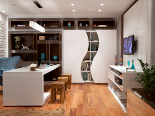 Adriana Fiali e Rose Corsini - FICODesign Eclectic style study/office