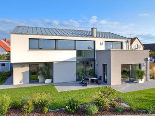 Haus M - Stutensee lc[a] la croix [architekten] Moderne Häuser