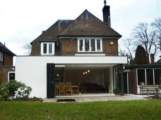 Olbaldston Gardens MWE Architects Jardins de inverno modernos
