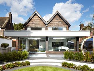 Exterior Clear Architects Balcones y terrazas de estilo moderno