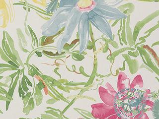 A superb collection of watercolour wallpaper designs by Lara Costafreda Paper Moon Paredes y pisosPapeles pintados