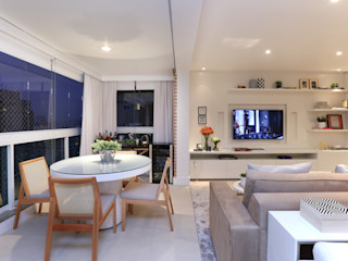 Now Arquitetura e Interiores Modern living room